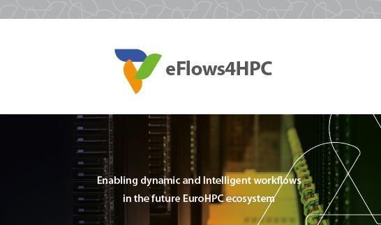 eFlows4HPC color logo with url