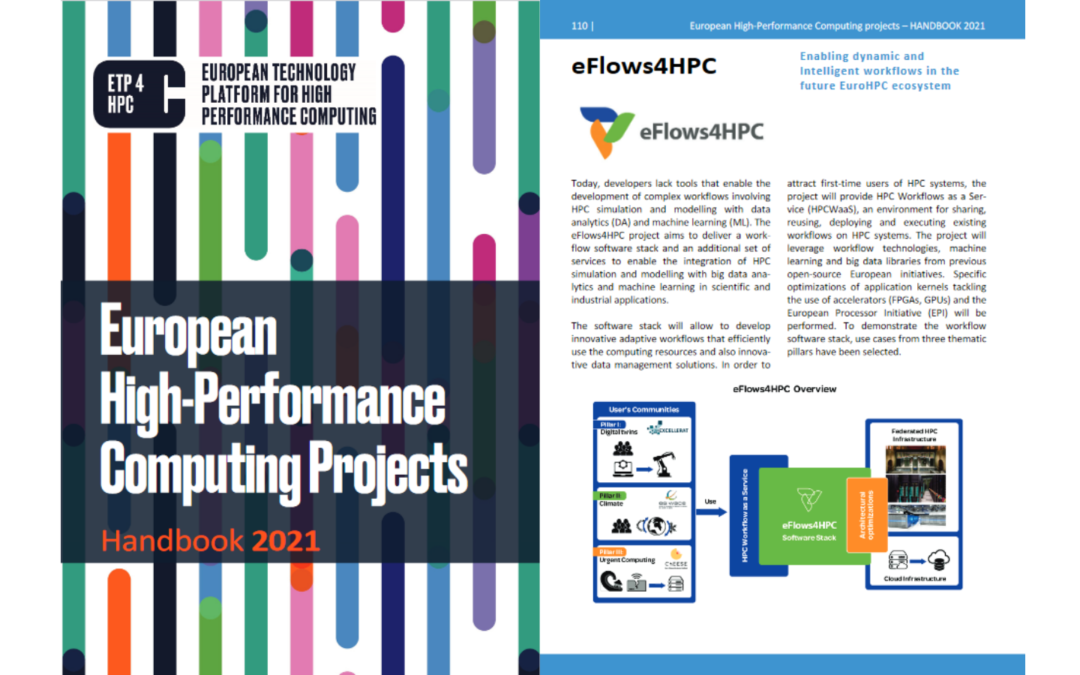 eFlows4HPC included in the new ETP4HPC Handbook